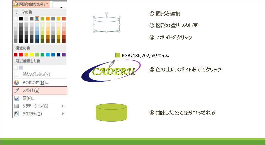 配色設定カスタマイズ機能イメージ1_PowerPoint(パワーポイント)研修セミナー